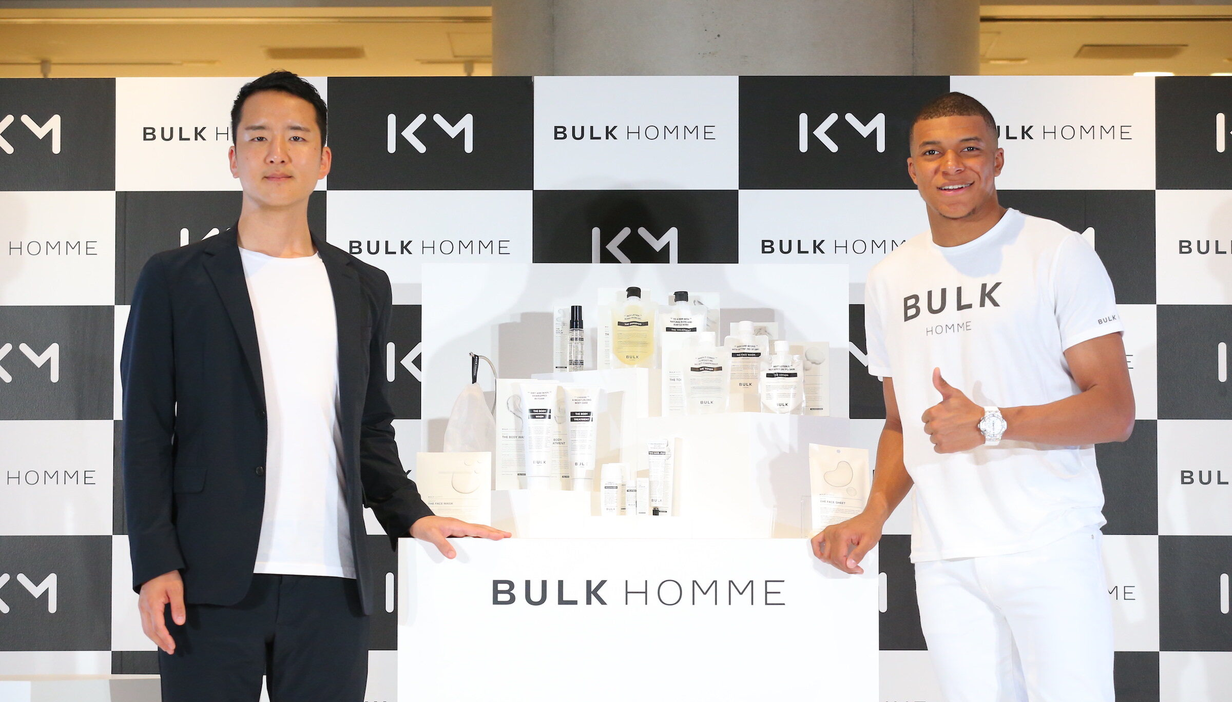 BULK HOMME Launches in Europe: Football Superstar and BULK HOMME Global Ambassador Kylian Mbappé Praises The Japanese Skincare Brand's Big Ambitions